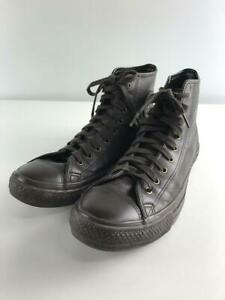 CONVERSE  Us10.5 Leather Brown Size US10.5 Fashion sneakers 781 From Japan