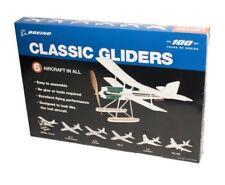Boeing Centennial Anniversary 6 glider/plane kit, makes 6 flying Boeing aircraft