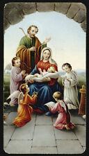 """santino-holy card """"ediz.NB serie LIPPI n.51 NATIVITA'"""