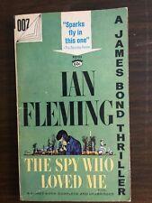 THE SPY WHO LOVED ME Ian Fleming James Bond 24TH printing Signet P2733 paperback