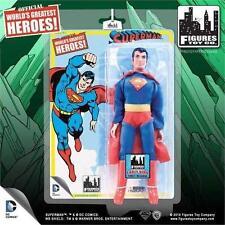 Más grandes del mundo Héroes Superman temprano Superman Serie 1 Figura Retro Mego