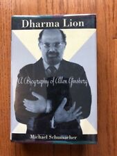 Dharma Lion A Biography of Allen Ginsberg by Michael Schumacher HCDJ