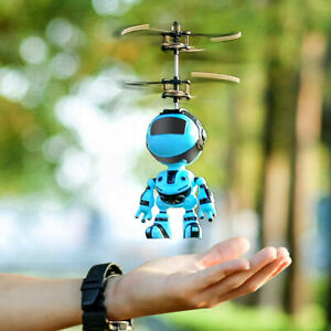 Intelligent Hand Sensing Fly Robot Kids Toys Electronic Aircraft  Toys for Gifts