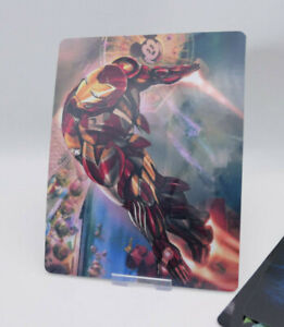 IRON MAN - Glossy Bluray Steelbook Magnet Cover (NOT LENTICULAR)