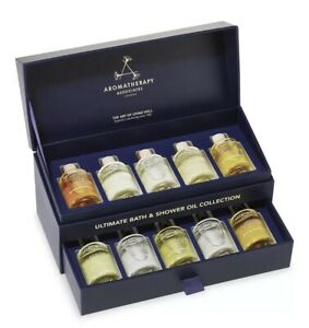 Aromatherapy Associates Ultimate Wellbeing 10-Piece Bath & Shower Oil Collection