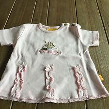 Steiff Baby-Tops, - T-Shirts & -Blusen für Mädchen aus 100% Baumwolle
