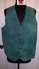 Brand New RICH Suede Menswear Vest!  So Soft and Rugged!, Size Large 42-44 Chest