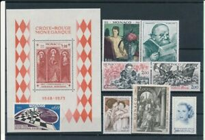D198765 Monaco Nice selection of MNH stamps