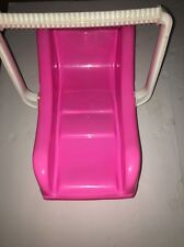 Vintage American Plastic Inc. Large Baby Toy Child Carrier Pink/White #2055 RARE