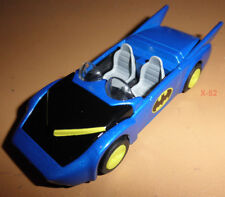 BATMAN Batmobile BLUE 1980's VER dark knight Super Powers design Hot Wheels toy