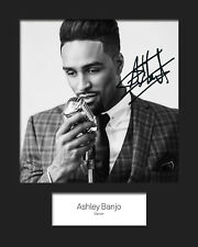 ASHLEY BANJO #3 10x8 SIGNED Mounted Photo Print - FREE DELIVERY