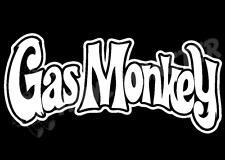 Gas Monkey Logo Car Sticker, Dodge Chevrolet Chevu V8 Modified Dallas Texas Beer