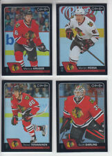 16/17 OPC Chicago Blackhawks Marian Hossa Black Rainbow card #146 Ltd #/100