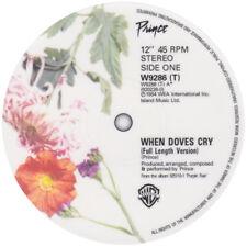Prince. When Doves Cry record label sticker.