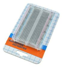DIY Mini Solderless Breadboard Transparent Material 400 Points Available