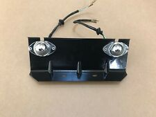 Genuine Toyota FJ45 Number Plate Holder with Lights