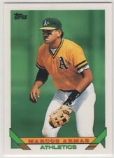 1993 Topps Baseball Oakland Athletics Team Set with Traded (32 cards)