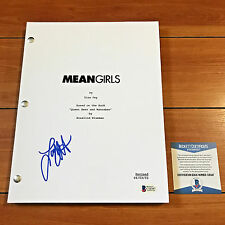 LACEY CHABERT SIGNED MEAN GIRLS MOVIE SCRIPT FULL 118 PAGES w/ BECKETT BAS COA