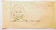 AL KILGORE original pencil drawing JANET LEIGH AKd31 Comic Art