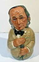 Doultonville Collection Toby Jug Dr Pulse The Physician D6723 1984 Royal Doulton