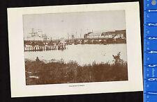 Bridge over the PASIG River at Manila, Philippines - 1900 Historical Print