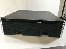 Cisco 3925 C3900-SPE100/K9 Integrated Services Router /w Dual Power Supply