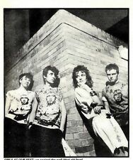 """30/7/85pg43 Black & White Picture 6x5"""" Girls At Our Best"""