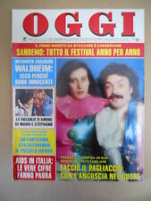 OGGI n°7 1988 Nino Frassica Stephanie di Monaco Leggenda di Sanremo  [G785]