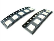 A2ZWORLD 10 Stücke LED SMD 5050 PLCC-6 Blau Blau 3V 0,2W 3 Chips