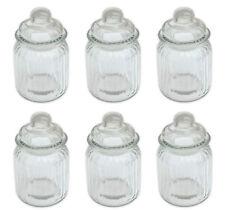 Bonbonglas Vorratsglas  Glasdosen Bonboniere mit Glasdeckel 300 ml 6 Stück