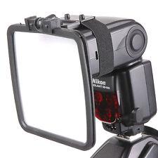 Flash Reflector Diffuser Kit For Nikon Canon Pentax Olympus Sony Fuji Samsung