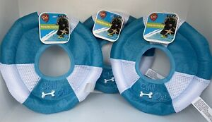 """3 Dog Fetch Flying Disc Frisbee Floating Toys 8"""" Chill Out"""