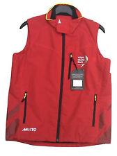 Ladies Musto Alicante Gilet Red S Small Showerproof Breathable Jacket Waistcoat