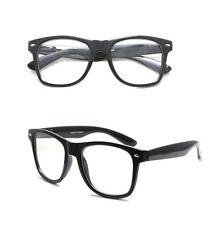 Retro Clear Nerd Geek Glasses Unisex Men Women Boy Girl Eyewear