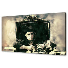 Tony Montana Scarface Al Pacino Canvas Print Picture Wall Art Free Fast Delivery