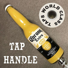 new CORONA BEER TAP HANDLE bottle marker art BAR Ocean Beach upcycled