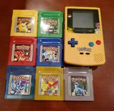 Nintendo Game Boy Color Pokemon W/ All 7 Pokemon Games GBC AND Pokemon GBC BAG!!