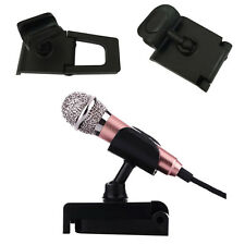 Adjustable Mini Desk Table Microphone Mic Shock Mount Clip Stand Holder Quality