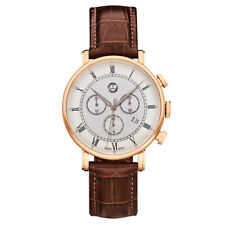 Original Mercedes Chronograph Herren Classic Retro Gold Uhr Armbanduhr B66041617