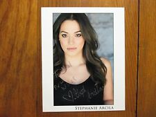 "STEPHANIE ARCILA(""I Hate This Part/Torture"")Signed  8"" X 10"" Glossy Color Photo"