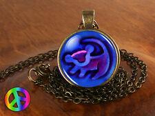 The Lion King Simba Rafiki Symbol Handmade Fashion Necklace Pendant Jewelry Gift