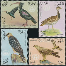 ALGERIE N°772/775**  Oiseaux, 1982 Algeria birds SC#701-704 MNH