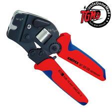 KNIPEX 97 53 09 SELF-ADJUSTING CRIMPING PLIER CRIMPER END SLEEVE FERRULES 975309