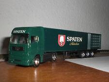 """Man-tractor con sattelauflieger """"Spaten-munich"""" en ho"""