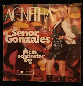Vinyl Single - Agnetha / Senor Gonzales / M 25108 / metronome