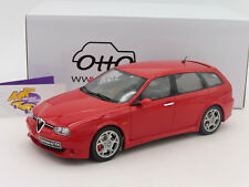 "OTTOmobile OT746 # Alfa Romeo 156 GTA Baujahr 2002 in "" alfarot "" 1:18 NEUHEIT"