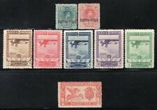 Spain 1920-1929, 8 Better Airmail + Special Delivery Stamps Mint