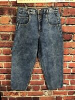 Vintage USA Guess 36x30 Mens 80s 90s High Waist Jeans Pascal Tapered Denim Blue