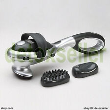 Handheld Full Body Electric Massager Percussion Machine Back Infrared Heating