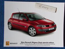 "Original Press Promo Photo - 8""x6"" - Renault - Megane Oasis - 2005"